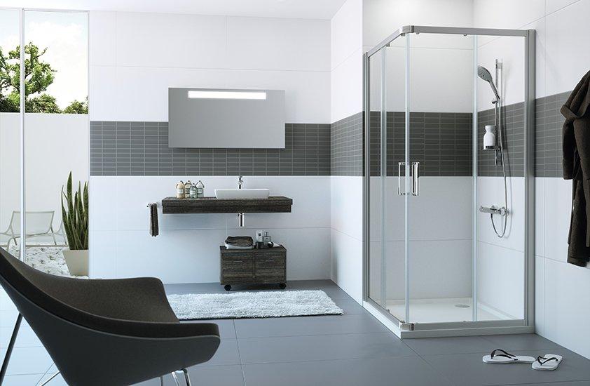 Mamparas de ducha HÜPPE en DICERMA BAÑOS